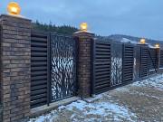 Якісні ворота відкатні та розпашні від виробника огорож Наша Хата Ужгород