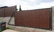 Відкатні ворота з профнастилу Ужгород