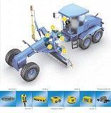 Система нівелювання MOBA GS-506 (2D) для автогрейдера\бульдозера Кировоград