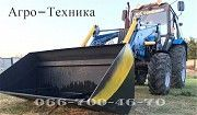 Кун. Быстросъёмный фронтальный погрузчик M-Technik1600. Дніпро