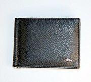 Зажим для денег с монетницей кожаный Dr.Bond Николаев