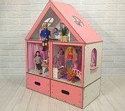 Кукольный домик для барби и кукол до 33см. Одесса