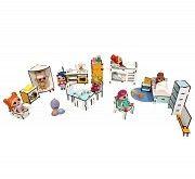 Большой набор мебели для лол (16ед.) Одесса