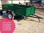 Купить новый легковой прицеп Днепр-210 и другие модели от Кременчугского завода Вишнёвое