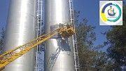 Ремонт (реставрация) наружная внутреняя покраска водонапорных башен и Резервуаров Новомосковск