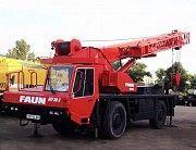 Автокран Faun RTF 30 1995р. Кировоград