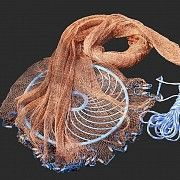 Кастинговая накидная сеть (парашют) Черновцы