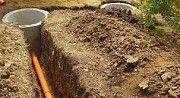 Копаем зливні вигрібні ями каналізація септік калуш долина. Калуш