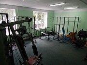 Качалка, фитнес, Crossfit, Workout в тренажёрном зале с инструтором Николаев