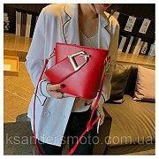 Женская сумка Красная с ремешком Ирпень