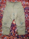 Теплые ватные штаны военные (СССР) для зимней рыбалки и охоты Полтава