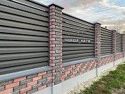 Стовпчики з цегли в замок, кирпич,цегла на паркан,цегла кая в Івано-Франківську Ивано-Франковск