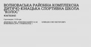 Волноваська районна дитячо – юнацька спортивна школа Волноваха