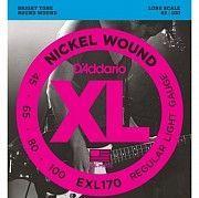 Струны для 4х струнной бас-гитары D'Addario EXL-170 Чернигов
