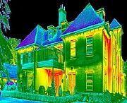 Тепловизионное обследование тепловизором, поиск утечек тепла и скрытых коммуникаций Харьков