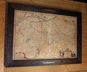 Подарок Директору - Генеральная карта Украины 1648г Київ