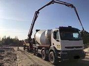 Бетон від виробника з доставкою по Київській області міксерами и самоскидами. Макаров