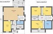 К вашему вниманию представлен двухэтажный стильный дом Обухов
