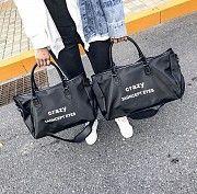 Практичная дорожная женская сумка Дорожные сумки черные , большие Киев