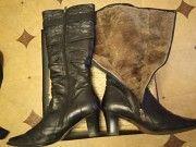 продам женские теплые кожаный сапоги Белгород-Днестровский