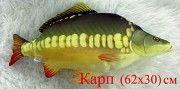 Подушка декоративная- Карп - сувенир,подарок для мужчин- рыбаков и детей Хмельницкий