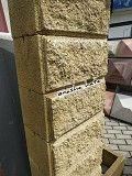Блок на паркан декоративний.Блоки стінові та стовпчикові.Огорожа з блоку Тернопіль Тернополь
