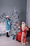 Новорічні вітання Діда Мороза та Снігурки! Ровно