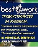 Робоча віза в Польщу, страховки, анкети, запрошення. Николаев