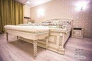 """Ліжко з натуральної деревини дуба """"Радість"""" Киев"""