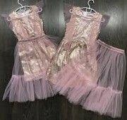 Волшебное платье со съемной юбкой-сеткой Жашков