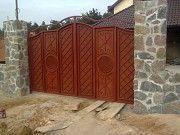 Изготовление металлических ворот Николаев. Николаев