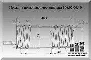 Изготовление пружин поглощающего аппарата, пружина поглощающего аппарата Полтава