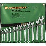 Набор комбинированных ключей Jonnesway 8-22 мм, 12 шт в чехле Винница