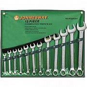 Набор комбинированных ключей Jonnesway 10-32 мм, 12 шт в чехле Винница