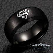 Кольцо из нержавеющей медицинской стали «Superman IІІ» (размеры в наличии 20.0) Червоноград