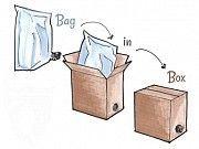 Пакет Bag-in-Box 10 л. метал. 12,50 грн. 3 л - 10,50 грн.,5 л-12,50 грн. Луцк