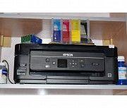 Продам принтер Эпсон ХР 320 с СНПЧ и пигментными красками Геническ