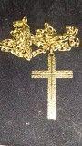 Крестик 750 проба Италия Днепр