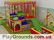 Детская игровая комната — строительство. Житомир