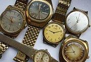 Куплю часы карманные, настенные, напольные, каминные, наручные, секундомеры. Запорожье