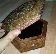 Шкатулки ручной работы украшенные янтарем Умань