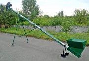 Погрузчик (транспортёр) зерна шнековый, передвижной ПШ-159 Сумы