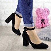 Туфли женские на каблуке черные Bruno 1433 Мелитополь