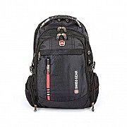 Рюкзак swissgear черный 30 л. 44х32х13 см универсальный (6910) Львов