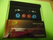 Акция! Наушники Awei - ES600M Black (Новые) Новая Каховка
