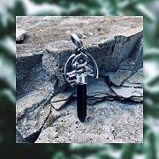 Cрібний кулон - оберіг «Грифон охоронець» Киев