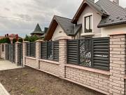 Декор панель ворота хвіртка, обгороджування котеджу. Монтаж під ключ Луцк