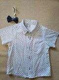 Продам детскую рубашку с коротким рукавом с бабочкой на 2 годика Обухов