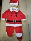 Продам детский новогодний костюм Санта Клауса на возраст до 6 месяцев Обухов