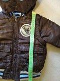Продам детскую курточку с капюшоном весна-осень на 12-18 месяцев Обухов